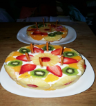 Cake made by a carer