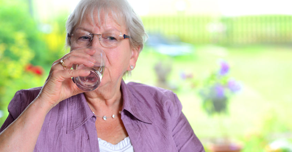 Dehydration in elderly people, an age old problem
