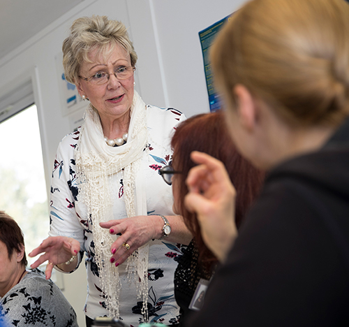 Our Elizabeth Live-in care trainer