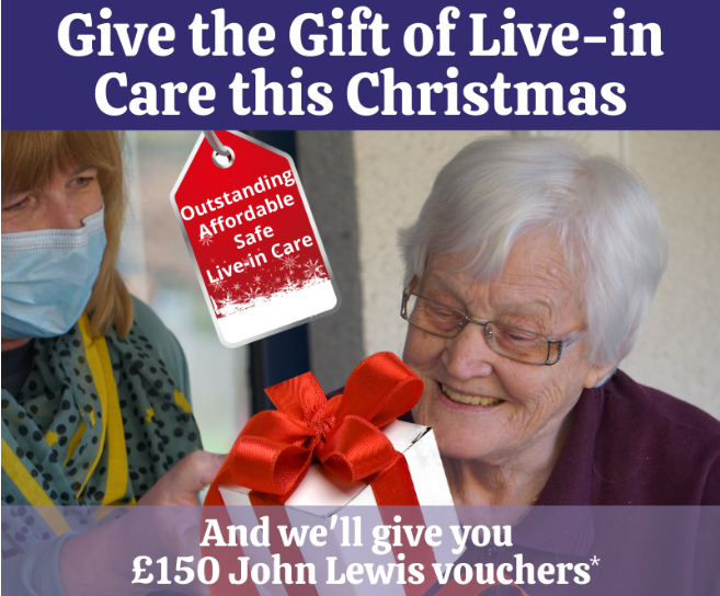 GIft of live-in care