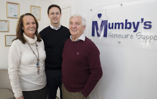 Mumby's Directors working towards the Care Heroes Awards