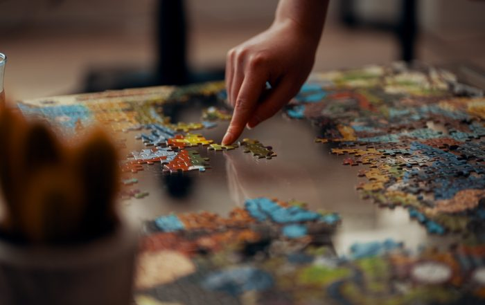 Puzzles improve cognitive health