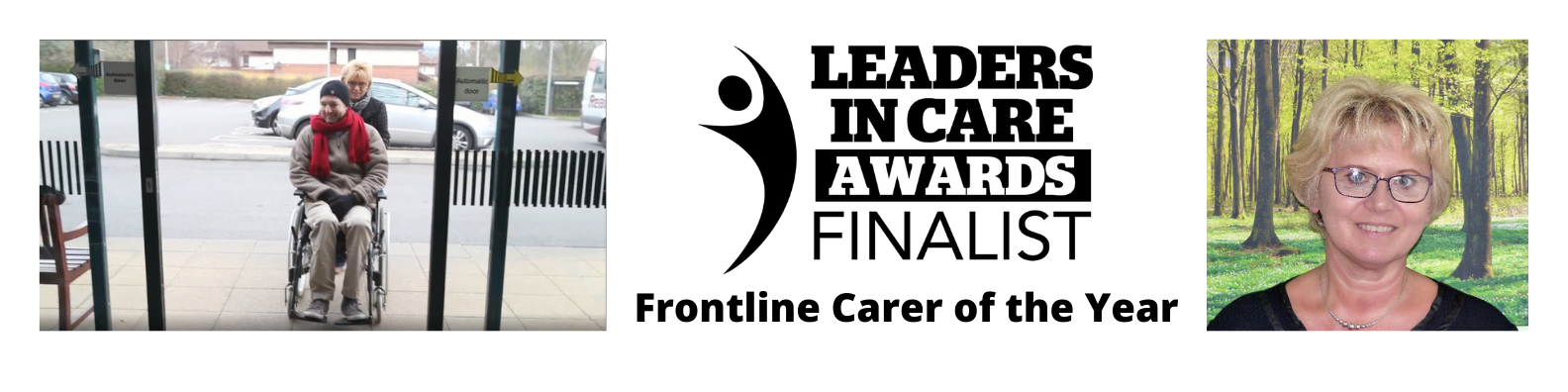 Finalist for Leaders in Care Awards 2021